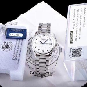 堂堂腕表:LG厂浪琴名匠双历腕表真假对比测评