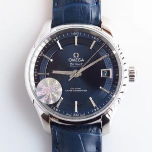 测评:3S厂欧米茄omega碟飞系列明亮之蓝看看和原装有何差距