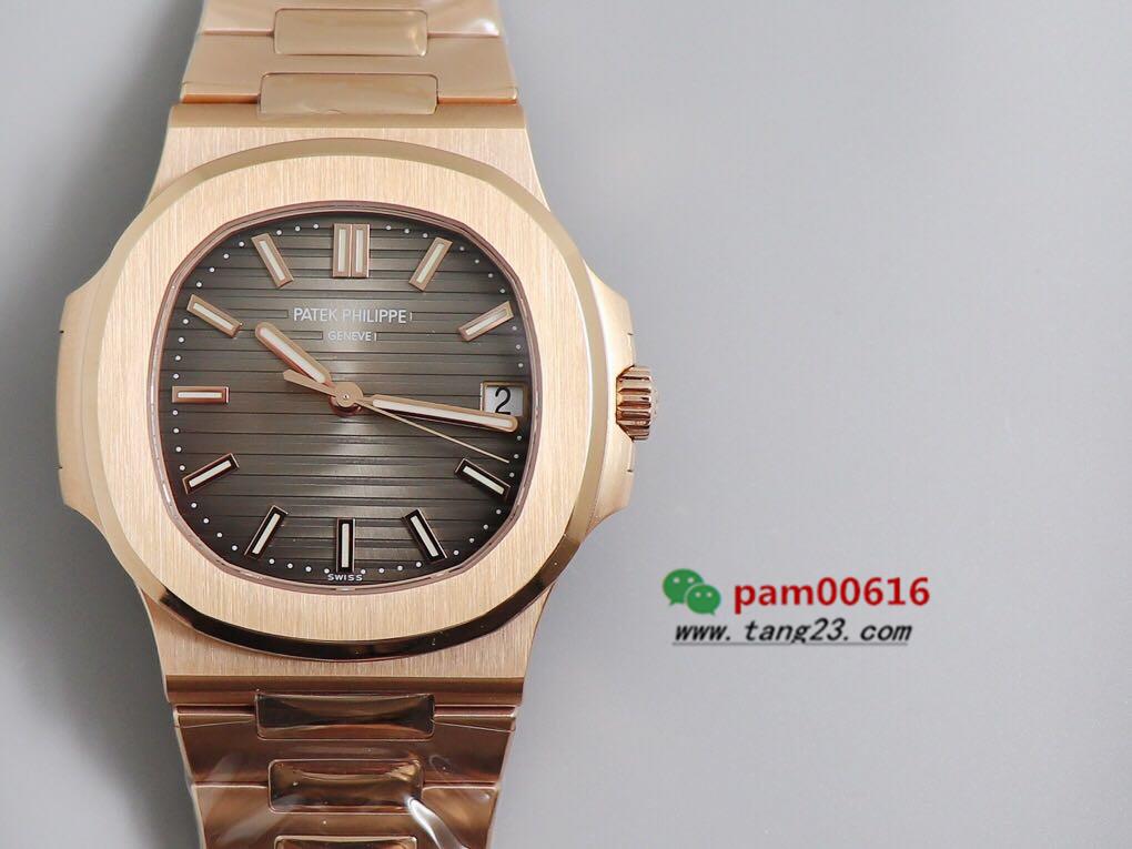 PPF厂百达翡丽鹦鹉螺玫金玫版5711R-001你买对版了吗?