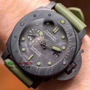 VS厂新一代潜行系列沛纳海961碳纤维腕表