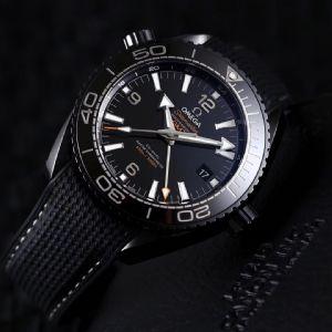 VS厂欧米茄全陶瓷海洋宇宙深海之黑腕表详解测评