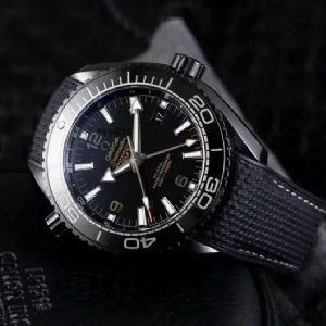 VS厂欧米茄海马海洋宇宙深海之黑真假对比