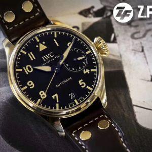 品鉴ZF万国青铜大飞IW501005青铜腕表