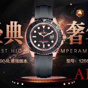 AR厂劳力士金游艇超级904L最强版本型号126655腕表