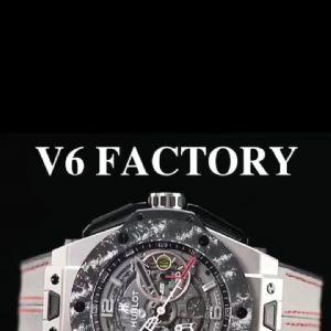 V6厂宇舶大爆炸钛合金&碳纤维法拉利纪念款王者之冠