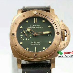 VS厂复刻沛纳海青铜PAM00382全球定量1000枚