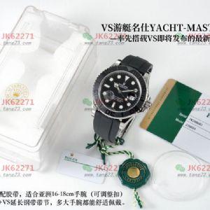 VS厂新品劳力士白金游艇名仕自产3235机芯腕表测评