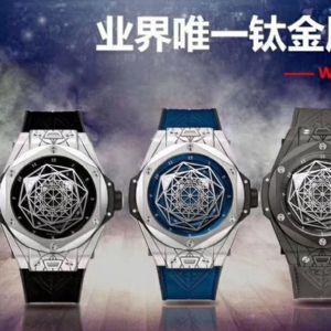 拆解测评:WWF厂新作宇舶Big Bang系列刺青腕表