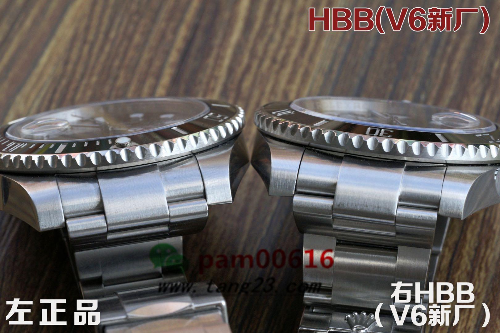 首发2020年HBBv6厂新版完美做工劳力士水鬼,打破市场常规品质