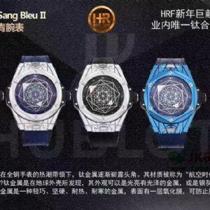 巅峰出场HR厂全新研发的宇舶bigbang系列刺青腕表
